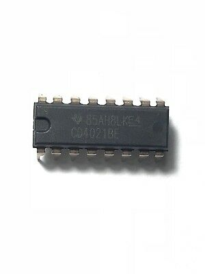10pcs Texas Instruments Cd4021be Cd4021 Static Shift Register Dip-16 New Ic
