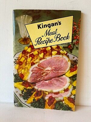 KINGAN'S MEAT RECIPE BOOK - 44 PAGES - RECIPES & PHOTOS - FREE SHIPPING