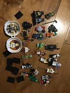 26 lego rare Star Wars mfc ninjago, superheros minifigures lot