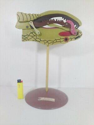 Vintage Biology Class Snake Head Anatomical Model Education New Old Stock
