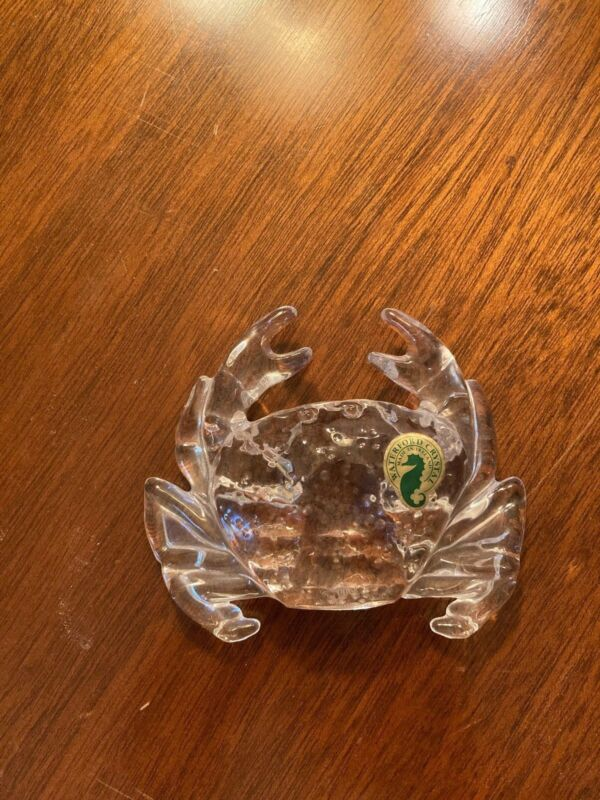 Waterford Crystal Crab Figure