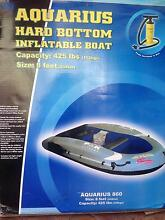 Inflatable dinghy + 18lbs motor near new suit fishing enthusiast Burwood Burwood Area Preview