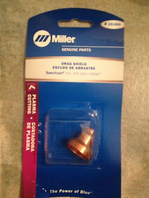 Item 122-miller 251960 Plasma Cutting Drag Shield Spectrum 375375625 X-treme