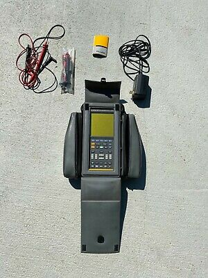 Fluke 99 Series Ii 50mhz 2ch Scopemeter Oscilloscope Multimeter Accessories