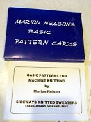 Knitting Machine Pattern Cards