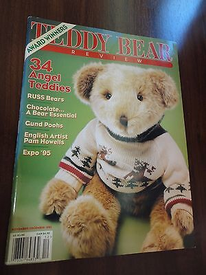 Teddy Bear Review Magazine Back Issue Nov / Dec 1995 Pam Howells Award Winners