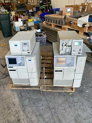 Lot Of 4 Waters 2695 Hplc Separations 2410 2487 Detector Enpower 2 Software