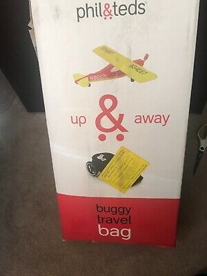 Phil & Teds Up & Away Buggy Travel Bag for Vibe NEW IN BOX (Teds Travel Bag)