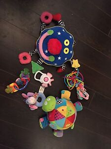 Free infant toys for a mom in need