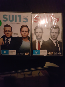 Season 1 and 2 of Suits dvd unopened Moil Darwin City Preview