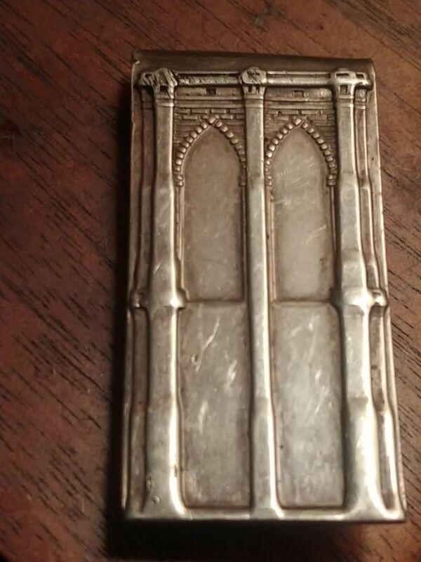 Vintage Tiffany & Co. Brooklynn Bridge Sterling Silver Money Clip