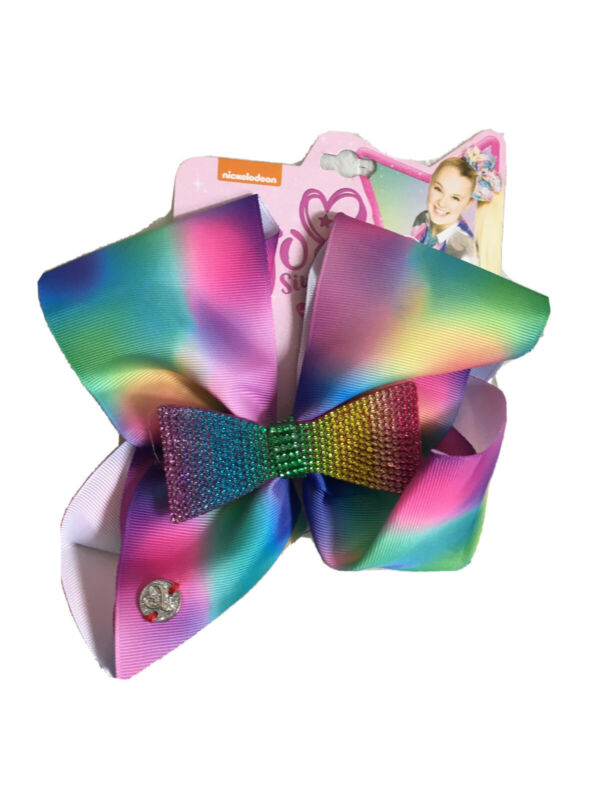 NEW Jojo Siwa Rainbow Lace Jojo 's Bow