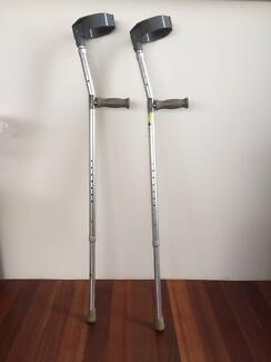 Crutches For Sale Hawthorn Boroondara Area Preview