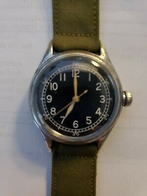 "1944 WWII Bulova ""Hack"" Trench Watch A-II, Runs great! Nice condition!"