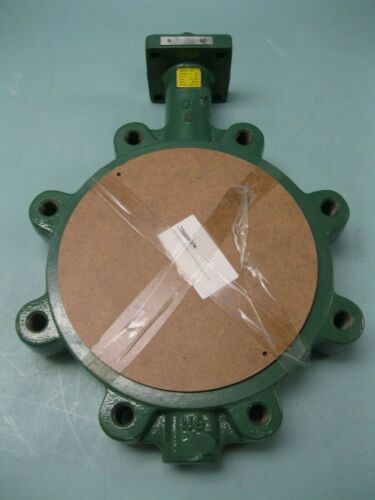 "8"" Crane Center Line 08CV06101X Lug Butterfly Valve DI x Al Br NEW A8 (2524)"