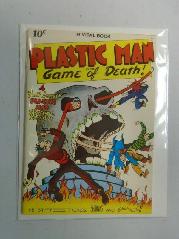 Flashback #11 Plastic Man #1 1943 reprint 6.0 FN (1970 DynaPubs)