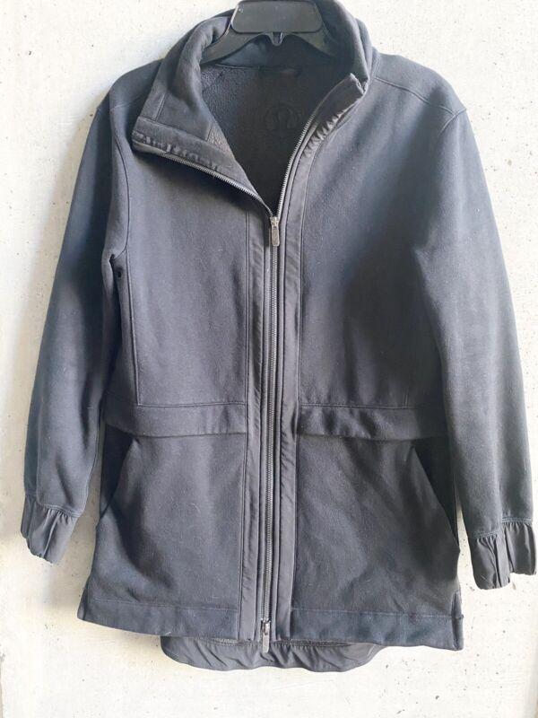 Lululemon Black Jacket Size 6
