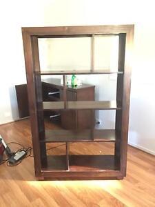 Solid wood display unit/ bookcase Elderslie Camden Area Preview
