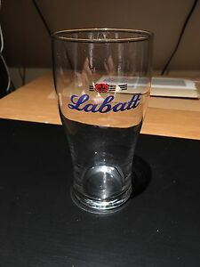 Labatt beer glass brand new