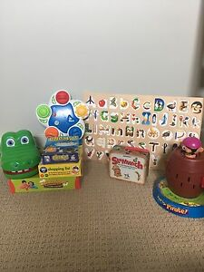 Lot of Kid Board Games and Puzzle