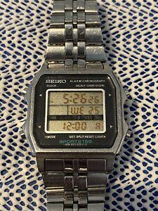 Seiko sports 150 vintage digital watch
