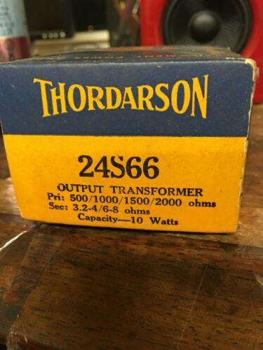 NOS Thordarson 24S66 Output Transformer 10 watts