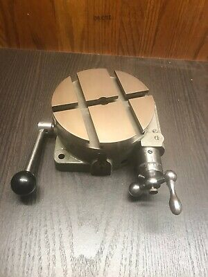 South Bend Rotary Table Lathe Milling Machine Shaper T Slot Table 4 12 Rtb 101