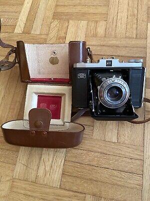appareil photo Zeiss Ikon Nettar objectif Novar 4,5/75mm en très bon état + box