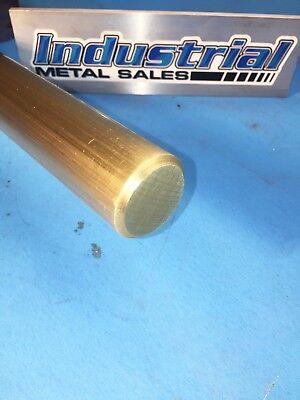 1-14 Diameter X 12-long 360 Brass Round Bar--1.250 360 Brass Lathe Stock
