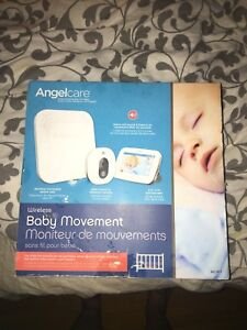 Angel care wireless baby movement video monitor