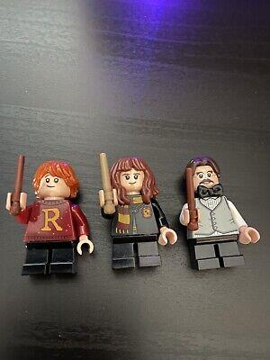 SET OF 3 LEGO HARRY POTTER ADVENT CALENDAR MINIFIGURES RON, HERIMONE, FILUS