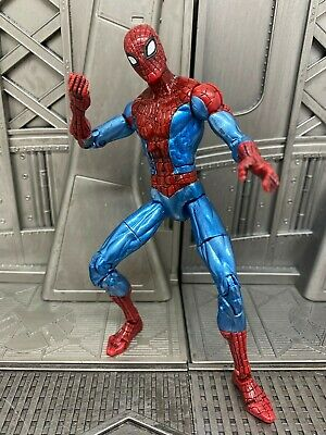 Marvel Legends Spider-man Classics Origins Shiny Spidey Metalic 6