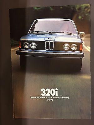 BMW Série 3 (320i) dépliant Canada