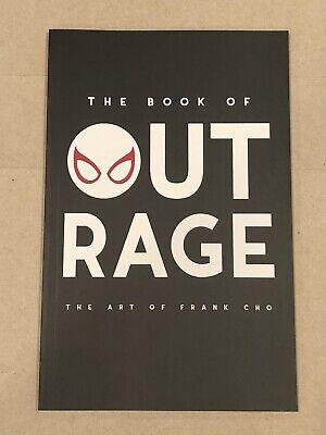 Frank Cho Book Of Outrage 2019 Sketchbook OOP