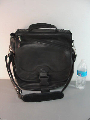 Outback Cross Body (CANYON OUTBACK LEATHER CROSS-BODY COMPUTER LAPTOP MESSENGER BRIEFCASE BAG BLACK)