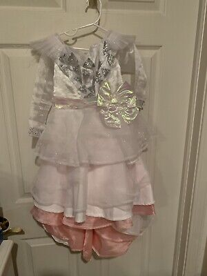 Baby Glinda Costume (Disney Store Glinda Oz the Great & Powerful Costume Gown Child Size 4 White)