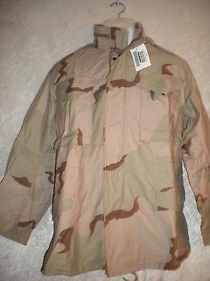Orig. US Army M65 Field Jacket M65 Parka  Coat Cold Weather  Desert Gr. S-R