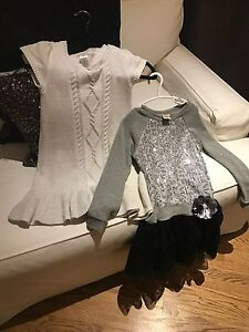 Beautiful Silver Gap Dress  and Dress from Macy's size 6