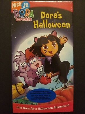 Dora the Explorer - Dora's Halloween (VHS, 2004) BRAND NEW FACTORY SEALED - Dora's Halloween Vhs