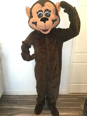 Facemakers Inc Professional Monkey Mascot Costume - Professional Costumes