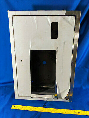 Wall Mount Base Shell For Vending Machine Dispenser Bathroom Condom Tampon Vtg