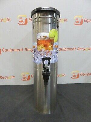 Bunn Iced Tea Dispenser Stainless Steel Narrow 3.5 Gallon Commercial Restaurant