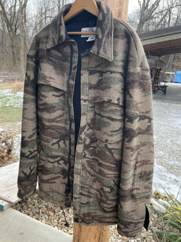 Vintage King Of The Mountain Wool Coat (mens L)