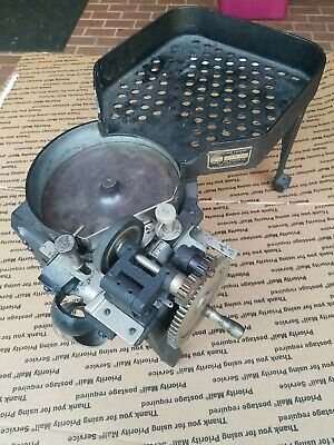 Vintage Abbott Coin Counter Model 2 3121 Hand Crank With Coin Counter