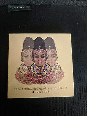 'The Tribe Highlighter Vol.3 By Juvia's' Juvia's Place, Pale Gold Highlighter.