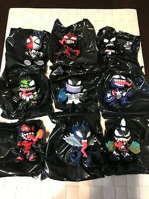 Funko Mystery Minis Marvel VENOM 🐍  Lot Of 9 ( GROOT, DEADPOOL, MARVEL + More