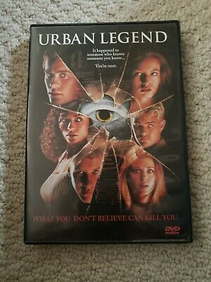 Urban Legend DVD 1998 Jared Leto Robert England Tara Reid Horror Scare Halloween