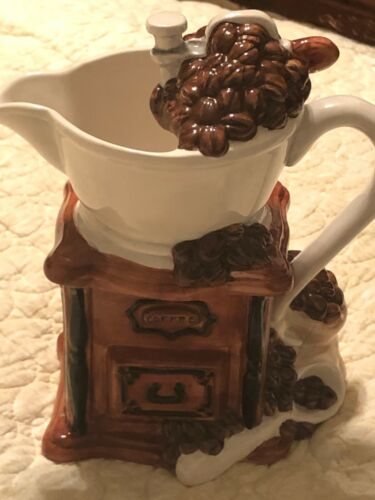Heritage Mint Ltd VERY RARE Coffee Bean Tea Pot