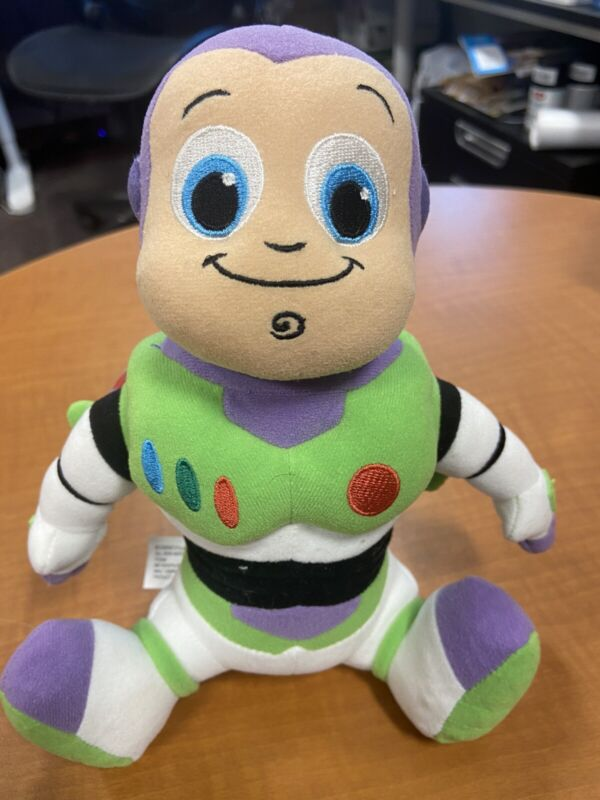 """Baby Buzz Lightyear  plush 8"""" from Disney World Adorable Lil Spaceman!"""