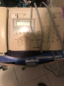 Home phone with fax